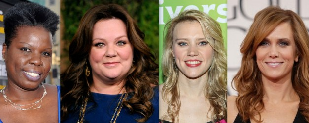 Ghostbusters female cast