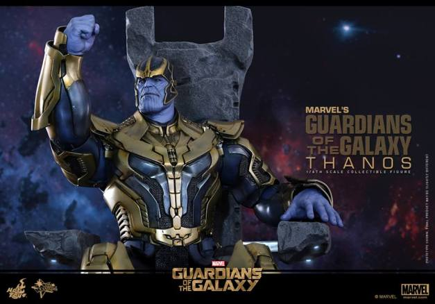 Hot Toys Thanos - on the throne