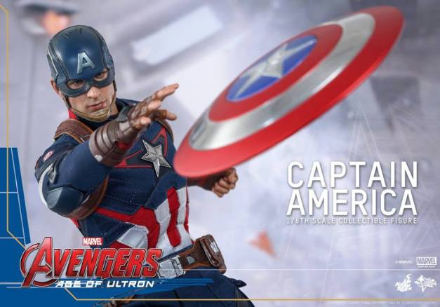 Hot Toys The Avengers Age of Ultron Captain America - slinging shield