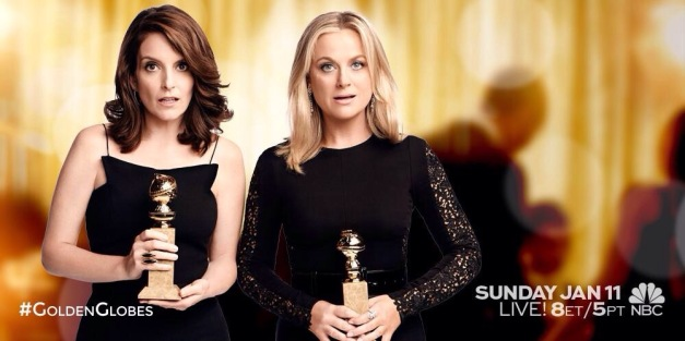 Tina Fey and Amy Poehler 2015 Golden Globes