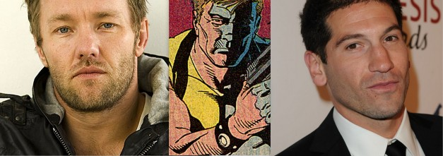 Joel Edgerton and Jon Bernthal for Suicide Squad Rick Flag