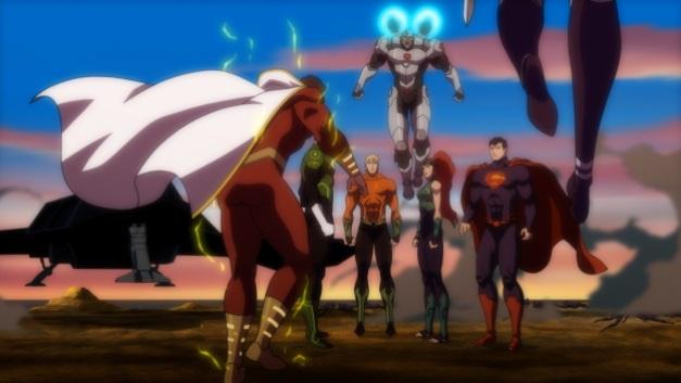 Justice League Throne of Atlantis - Aquaman meets the Justice League