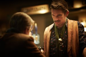 Predestination movie - Ethan Hawke as time agent