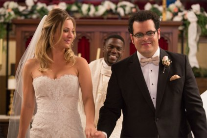 The Wedding Ringer - Kaley Cuoco-Sweeting, Kevin Hart and Josh Gad