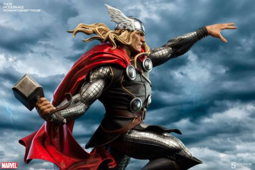 Thor Marvel Premium Format Figure - profile shot