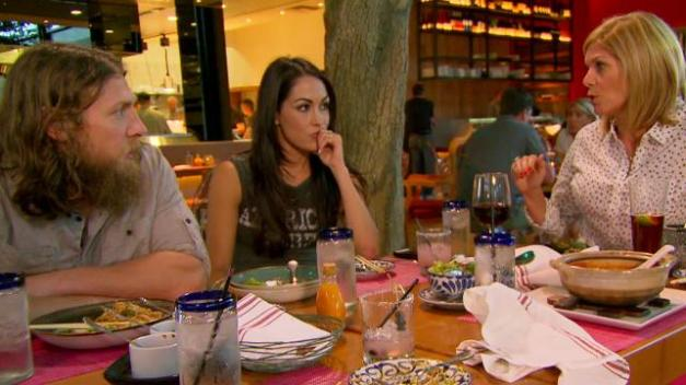 Total Divas - Daniel Bryan, Brie Bella and Kathy