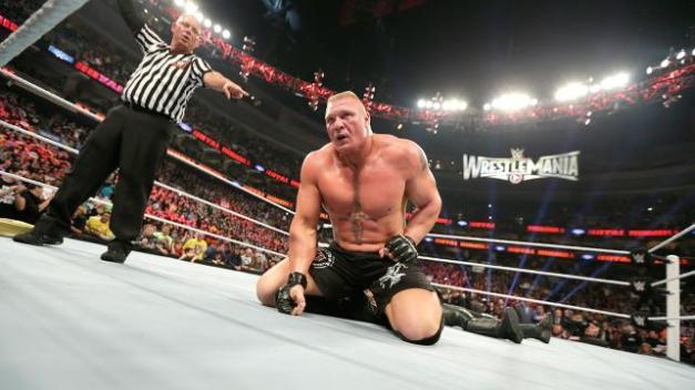 2015 Royal Rumble - Brock Lesnar