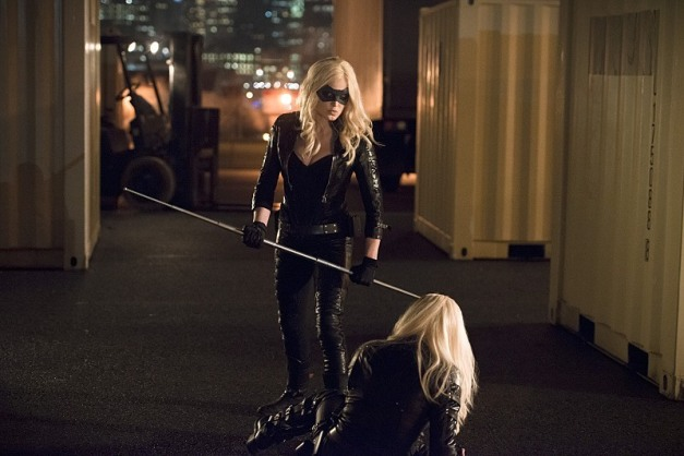 Arrow - Canaries - Canary vs Black Canary