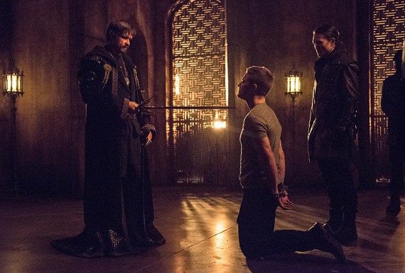 Arrow-Nanda-Ra's al Ghul, Oliver and Maseo