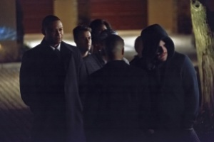 Arrow - The Return - Diggle, Tommy and Oliver