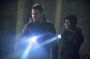 Arrow - The Return - Oliver and Thea