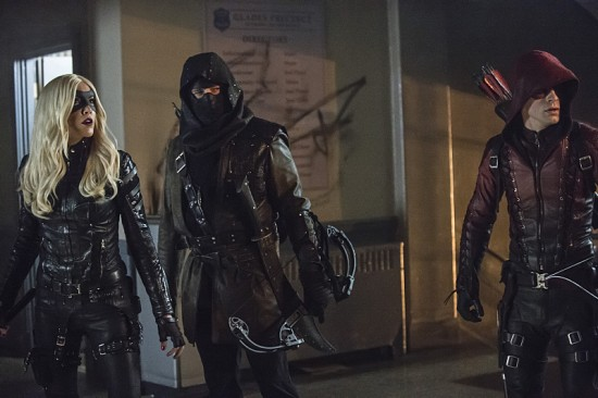 Arrow - Uprising - Canary, Merlyn and Arsenal