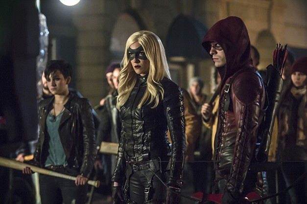 Arrow - Uprising - Sin, Canary and Arsenal2