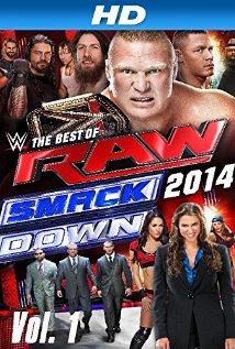 Best of Raw Smackdown 2014 - Blu Ray cover