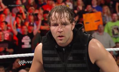 Best of Raw Smackdown 2014 - dean-ambrose-shield-shock