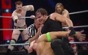 Best of Raw Smackdown 2014 -  John Cena, Daniel Bryan and Sheamus vs The Shield