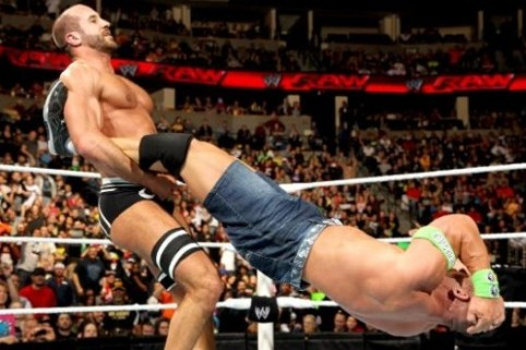 Best of Raw Smackdown 2014 -  John Cena vs Cesaro