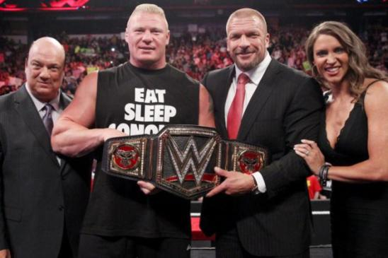Best of Raw Smackdown 2014 - Paul Heyman, Brock Lesnar The Authority