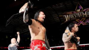Best of Raw Smackdown 2014 - Usos vs New Age Outlaws