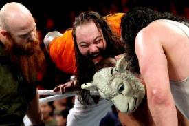 Best of Raw Smackdown 2014 - Wyatt Family puts mask on John Cena