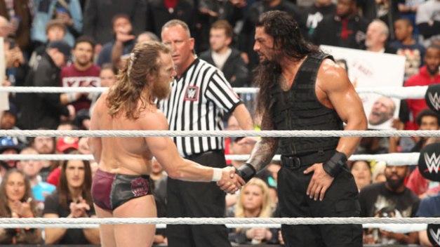 FastLane -  Bryan shakes Reigns hand