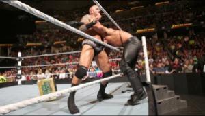 FastLane - Rollins gets ambushed by Randy Orton