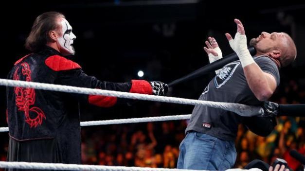 FastLane - Sting challenges Triple H