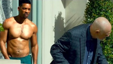 Focus movie 2015 - Will Smith shirtless and Gerald McRaney