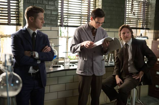 Gotham - The Scarecrow - Gordon, Nygma and Bullock