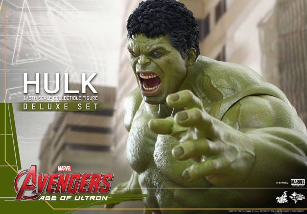 Hot Toys Hulk - Age of Ultron - growling Hulk