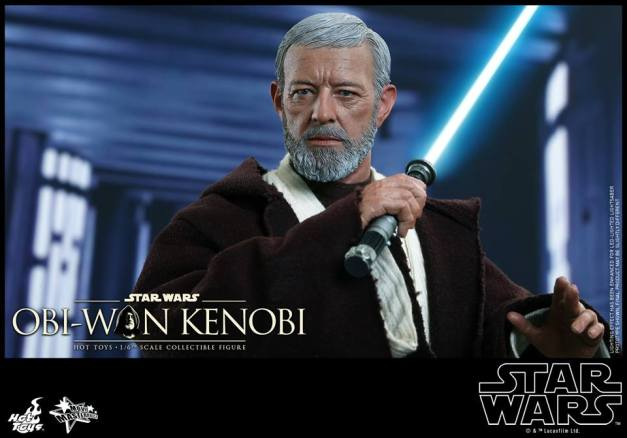 Hot Toys Obi Wan Kenobi - preparing for battle