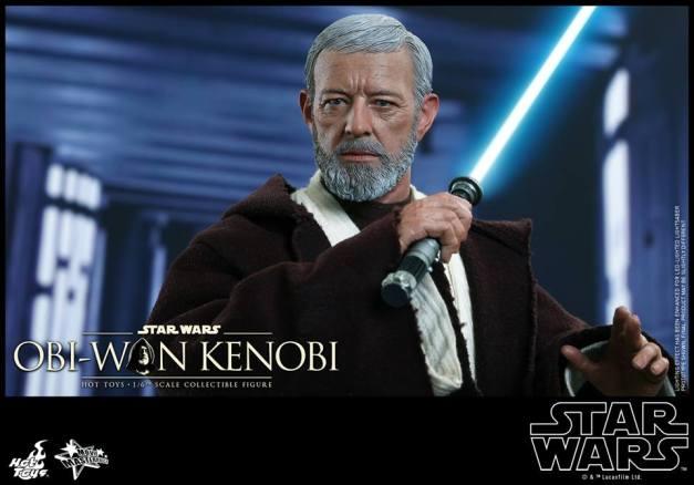 Hot Toys Obi Wan Kenobi - preparing for battle