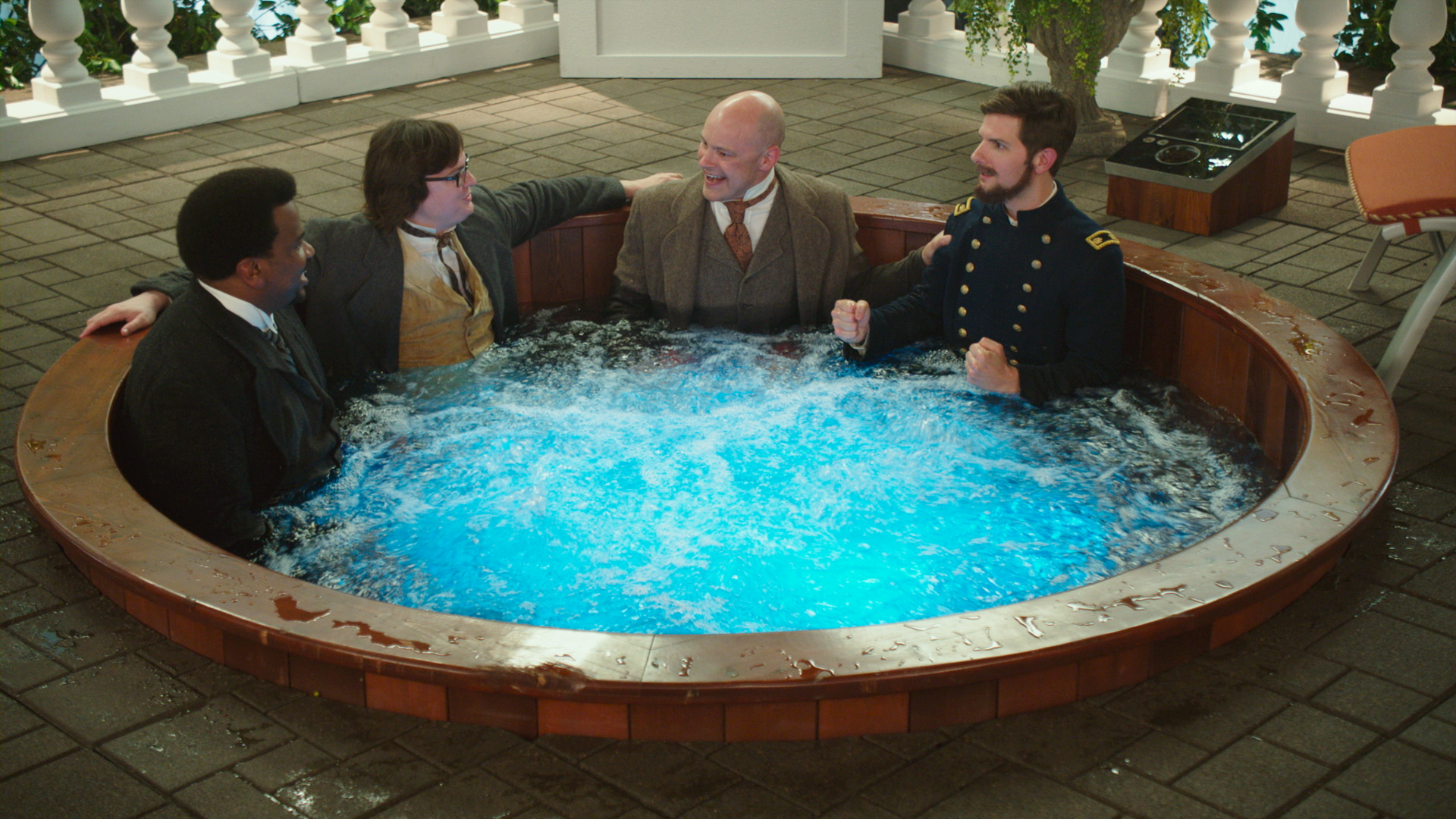hot tub time machine 2 review one dip in the tub too many. Black Bedroom Furniture Sets. Home Design Ideas