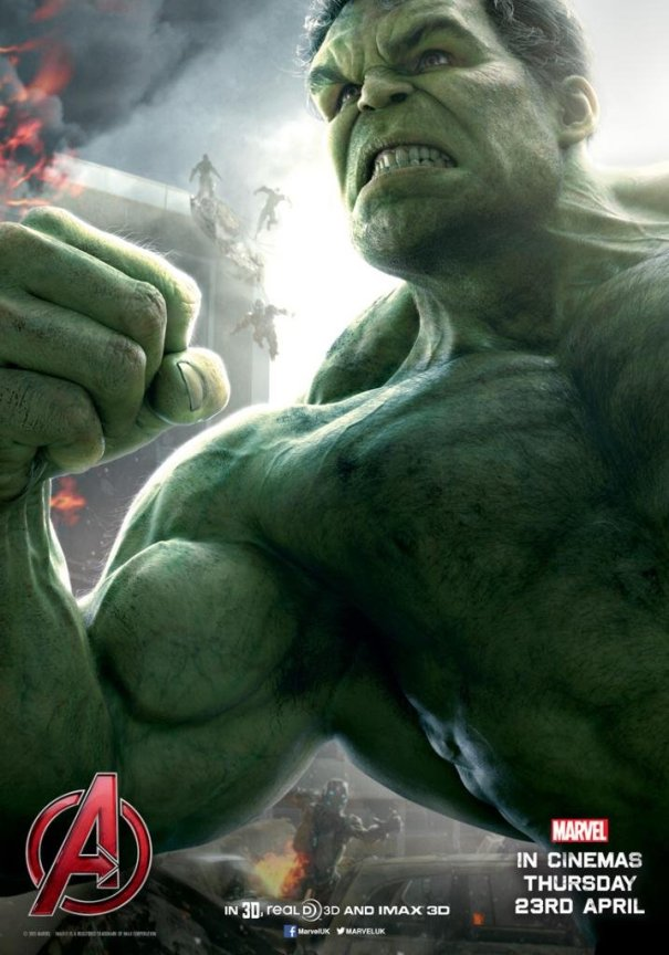 Hulk Avengers Age of Ultron poster