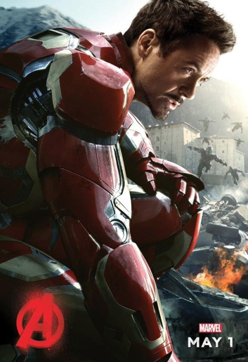 Iron Man Avengers Age of Ultron solo poster
