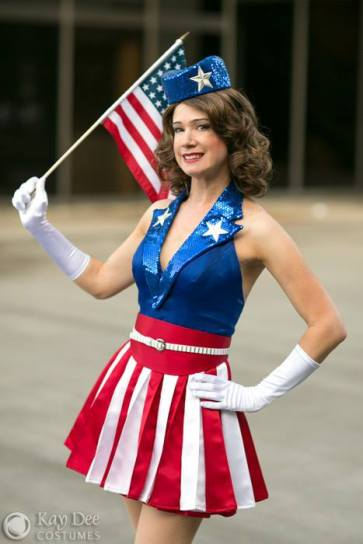 KathyKay Dee cosplay - Miss America