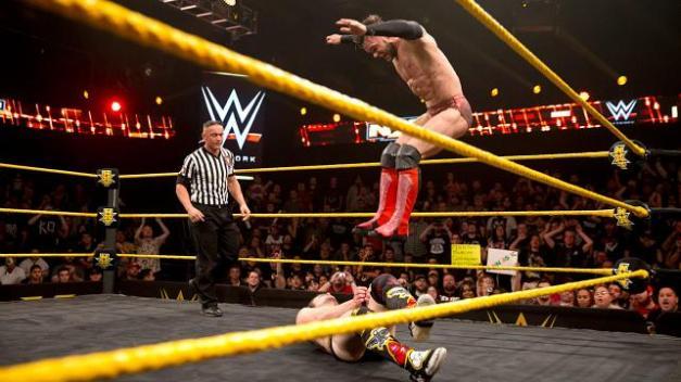 NXT 2.25.15 - Finn Balor vs The Brian Kendrick