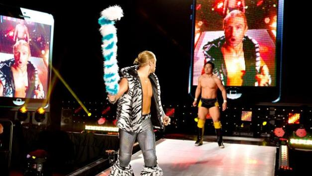 NXT - Tyler Breeze sees Itami