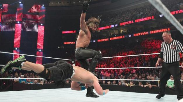 Rollins vs Cena 2015 royal rumble