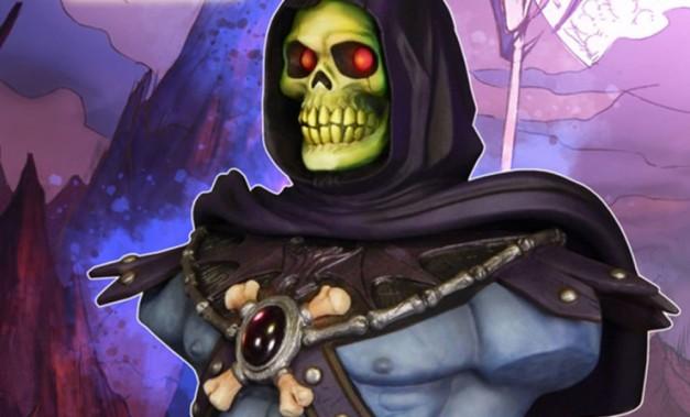 Skeletor bust - main