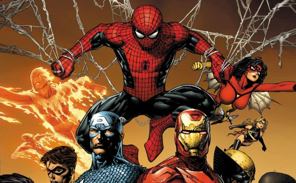 Spider-Man with Avengers