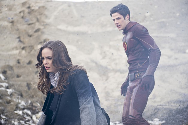 The Flash - Caitlin and The Flash