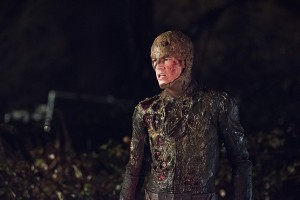 The Flash - The Flash in corroded suit