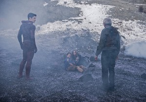The Flash - The Flash, Ronnie, Caitlin and Prof. Stein