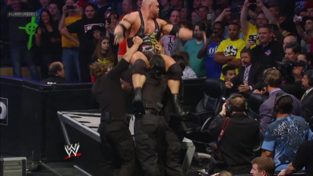 The Shield - powerbombing Ryback