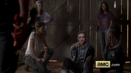 The Walking Dead - The Distance - Rosita, Aaron and Michonne