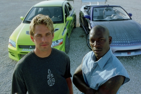 2 Fast 2 Furious - Paul Walker and Tyrese