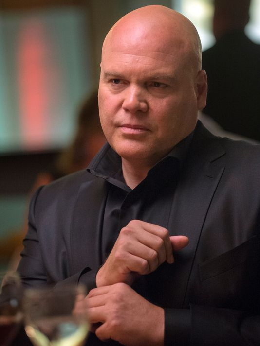 Vincent D'Onfrio as Kingpin in Daredevil