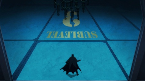 Batman vs Robin- Batman vs Owls