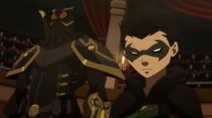 Batman vs Robin--Talon and Robin